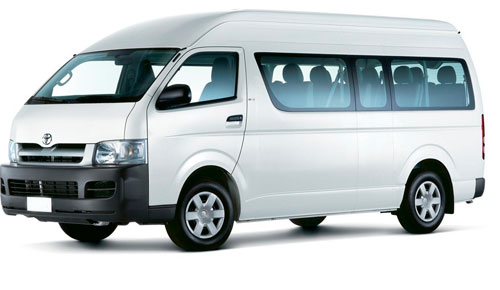 Renta De Camionetas De Pasajeros Minivans Hiace