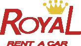 Logotipo de Royal Rent a Car.